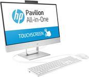"All In One PC HP Pavilion 24-xa0002nq (Procesor Intel® Core™ i5-8400T (9M Cache, 3.30 GHz), Coffee Lake, 23.8"" FHD, Touch, 4GB, 1TB HDD @7200RPM, nVidia GeForce GTX 1050 @4GB, Alb)"