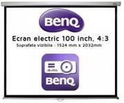 Ecran Videoproiector BenQ 5J.BQEE3.100, 203.2 x 152.4 cm