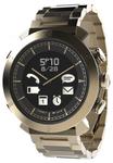 Smartwatch Cogito Classic Metal PGD00038, Bluetooth, Rezistent la apa 100M, curea metalica (Auriu)